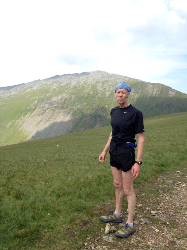 "A few good days were had in Wales with the Chadwick, who schooled me on Strawberries (good work!). Here is out running over the Glyders, looking remarkably something or other but fortunately not wearing ""those"" shorts!"