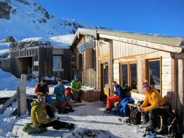 Bringing in 2015 in La Grave. Good mates and good times. Living the dream...literally.